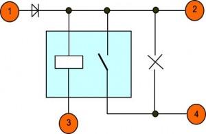 Антипух - электрическая схема. Подключение.