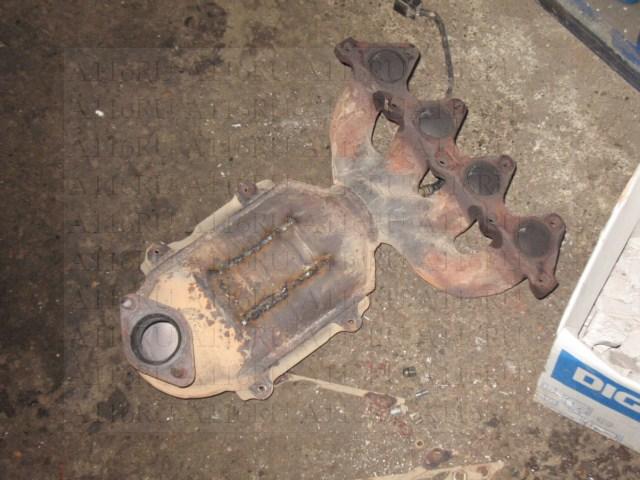Ремонт катализатора - выбивание катализатора и сварка