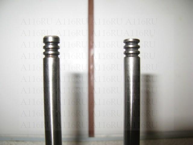 Пример как можно укоротить клапан
