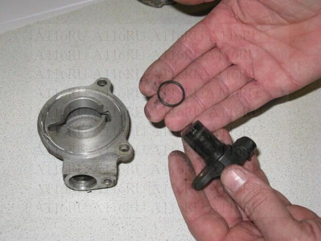 Датчик фазы, крышка и уплотнительное кольцо